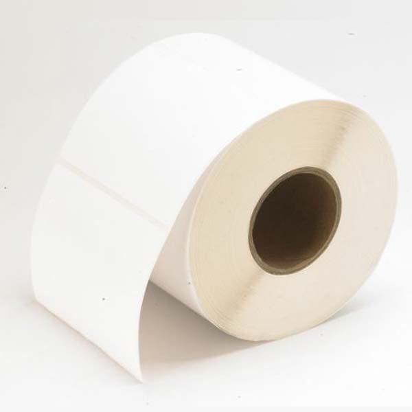 "Primera 2.5 x 7"" White TuffCoat High-Gloss Labels - 375 Labels"