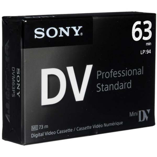Sony HDV/DV - 63 Minutes - Prosumer Mini DV Cassette  - DVM6