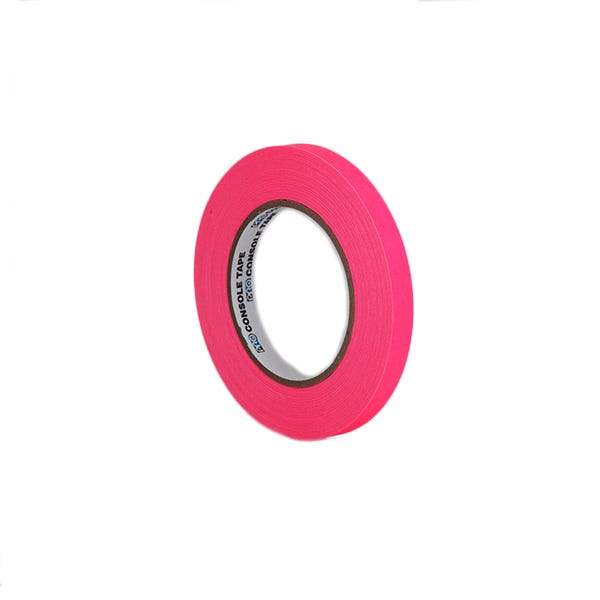 """ProTapes 1/2"""" Artist's Paper Tape - Fluorescent Pink"""