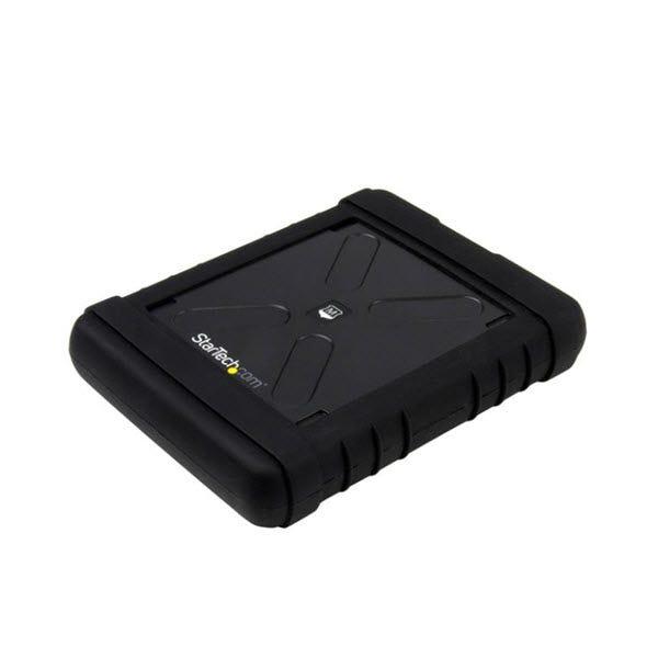 StarTech Rugged Hard Drive Enclosure - USB 3.0 to 2.5in SATA