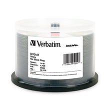 Verbatim 8X Shiny Silver 4.7GB DVD+R Cake Box - 50pc