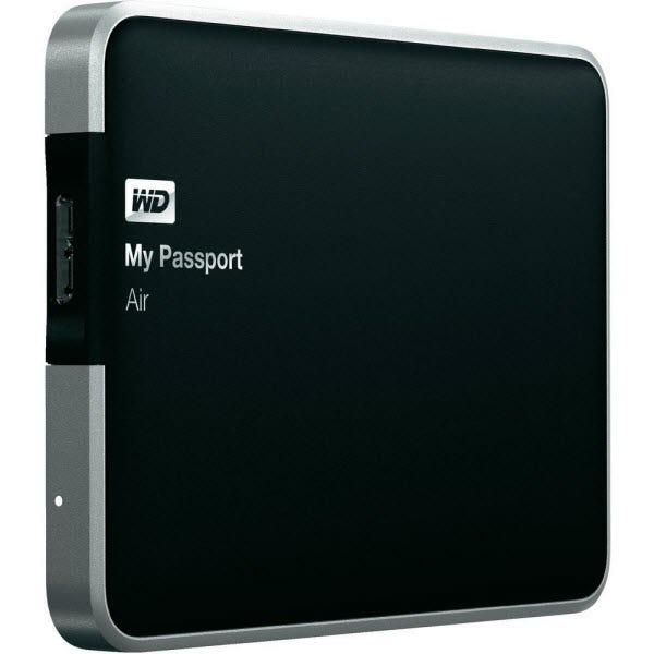 WD My Passport Air 500GB all-metal USB 3.0 Ultra-slim Mac Ex