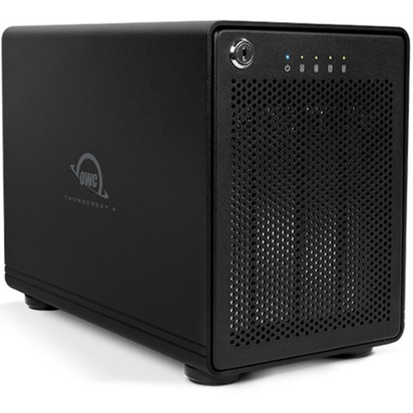 OWC 48TB ThunderBay 4 Thunderbolt 2 4-Bay RAID Array (RAID 5 Edition)