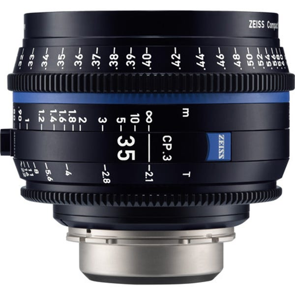 Zeiss CP.3 35mm T2.1 Compact Prime Lens - EF Mount