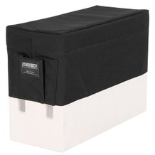 Modern Apple Box Horizontal Seat Cover - Black
