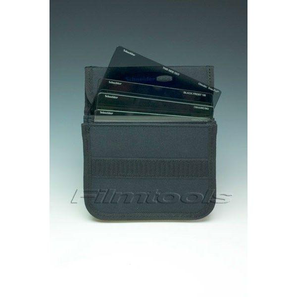 "Schneider Optics Nylon Filter Pouch - Four 4 x 5.65"" Schneider Optics Motion Picture Filters (Replacement)"