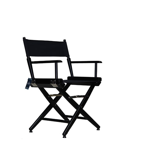 Film Craft Short Studio Director's Chair - Black
