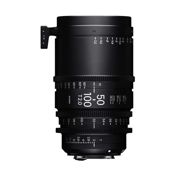 Sigma 50-100mm T2 High-Speed Zoom Lens - PL Mount