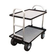 "Backstage Equipment Magliner Modified Junior Cart with 24"" Shelves"