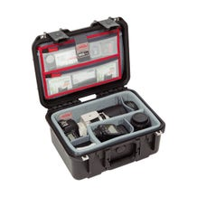 SKB iSeries 1309-6 Case with Think Tank Photo Dividers & Lid Organizer (Black)