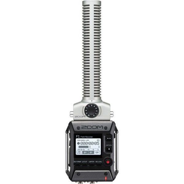 Zoom F1 Field Recorder with Shotgun Microphone