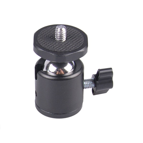 GTX Mini Ball Head with Aluminum Plate - Black
