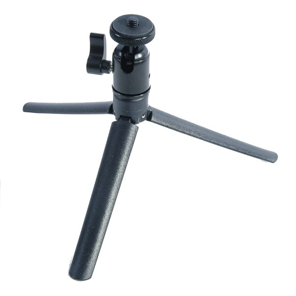 GTX Folding ABS Tripod Base/Handle with Metal Ball Head