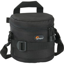 "Lowepro 11 x 11cm (4.3"" x 4.3"") Lens Case - Black"