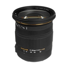 Sigma 17-50mm f/2.8 EX DC OS HSM Zoom Lens for DSLRs with APS-C Sensors