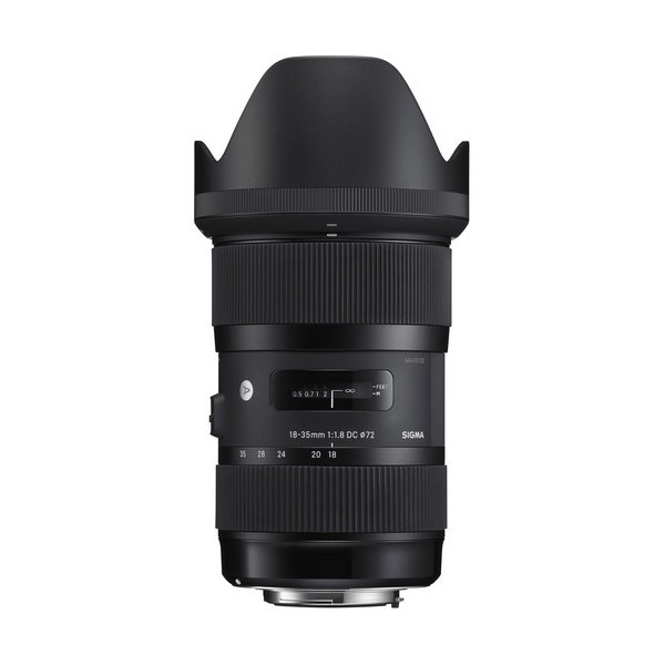Sigma 18-35mm f/1.8 DC HSM Art Lens for EF Mount
