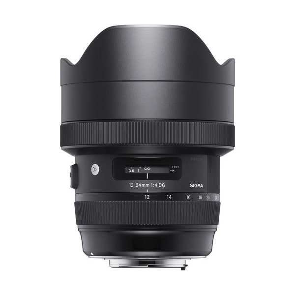 Sigma 12-24mm f/4 DG HSM Art Lens for EF Mount