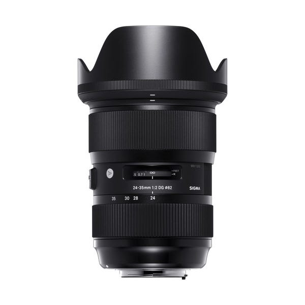 Sigma 24-35mm f/2 DG HSM Art Lens for EF Mount