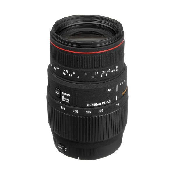 Sigma 70-300mm f/4-5.6 APO DG Macro Lens for Canon EOS Cameras