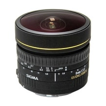 Sigma 8mm f/3.5 EX DG Circular Fisheye Lens (EF Mount)
