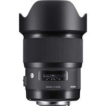 Sigma 20mm f/1.4 DG HSM Art Lens (EF Mount)