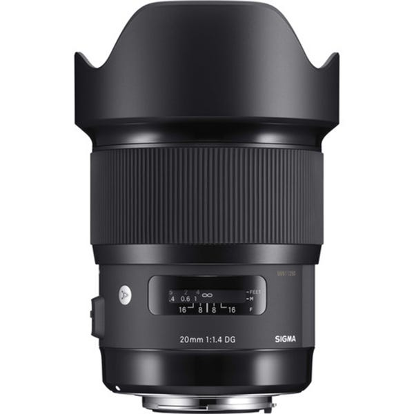 Sigma 20mm f/1.4 DG HSM Art Lens for EF Mount