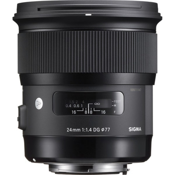 Sigma 24mm f/1.4 DG HSM Art Lens - Various Mounts