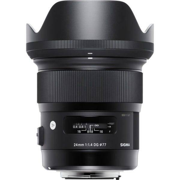 Sigma 24mm f/1.4 DG HSM Art Lens for EF Mount