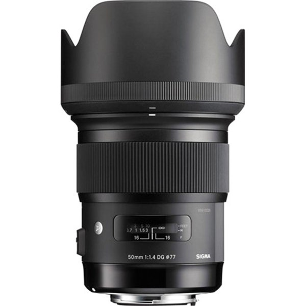Sigma 50mm f/1.4 DG HSM Art Lens - Various Mounts