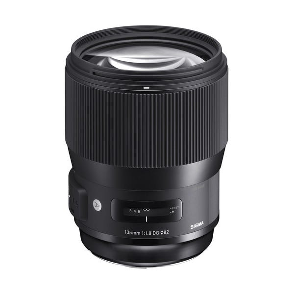 Sigma 135mm f/1.8 DG HSM Art Lens for EF Mount