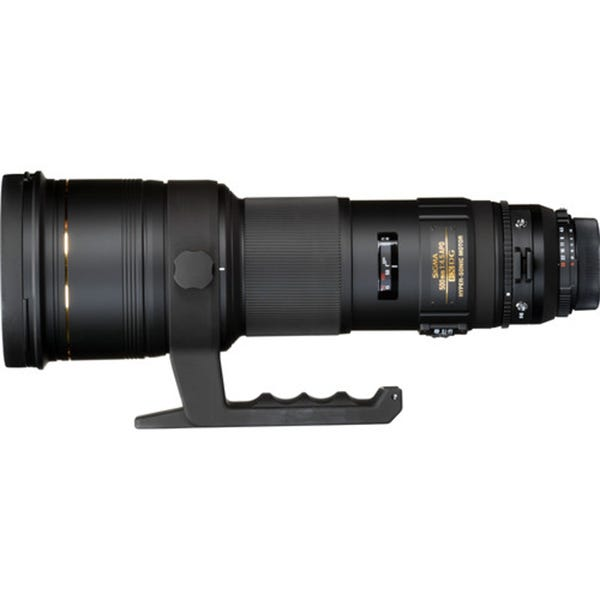 Sigma 500mm f/4.5 EX DG APO HSM Lens for EF Mount