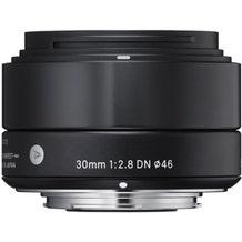 Sigma 30mm f/2.8 DN Lens for Micro Four Thirds Cameras - Black
