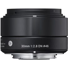 Sigma 30mm f/2.8 DN Lens for Micro Four Thirds Cameras - Black