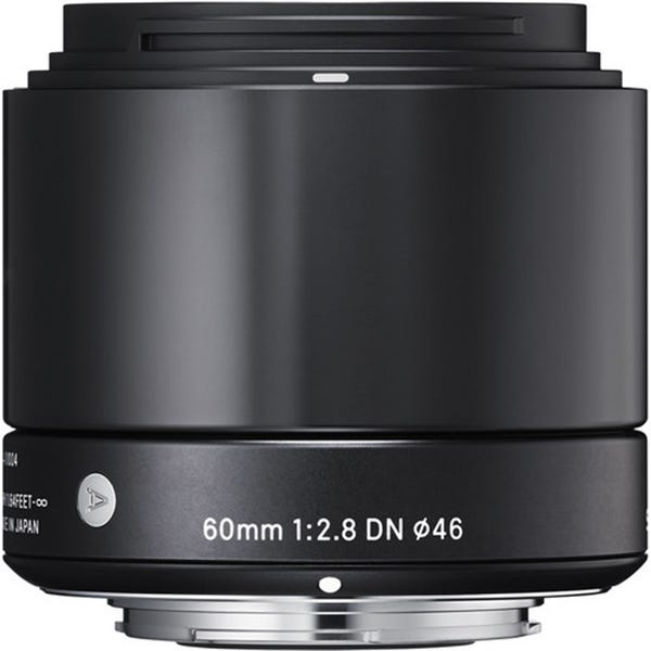 Sigma 60mm f/2.8 DN Lens for Micro Four Thirds Mount Cameras - Black
