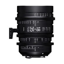 Sigma 18-35mm T2.0 FF High-Speed Zoom Lens - Various Mounts
