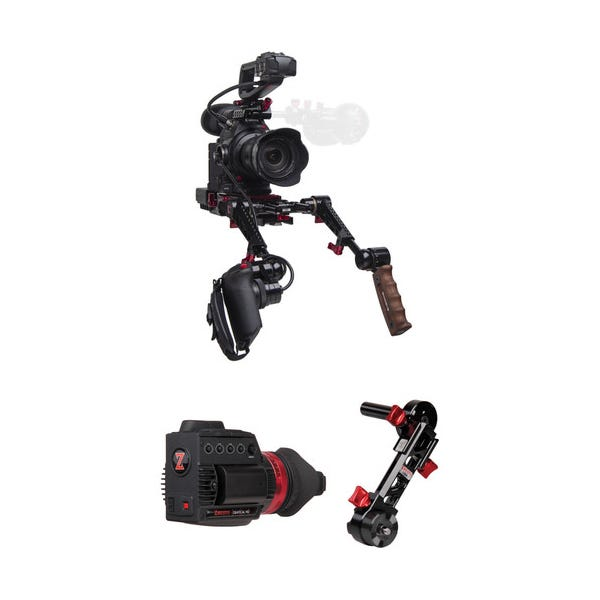Zacuto C100 Mark II Rig with Dual Grips - Gratical HD Bundle
