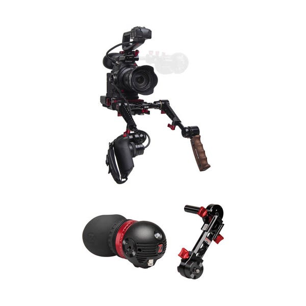 Zacuto C100 Mark II Rig with Dual Grips - Gratical Eye Bundle