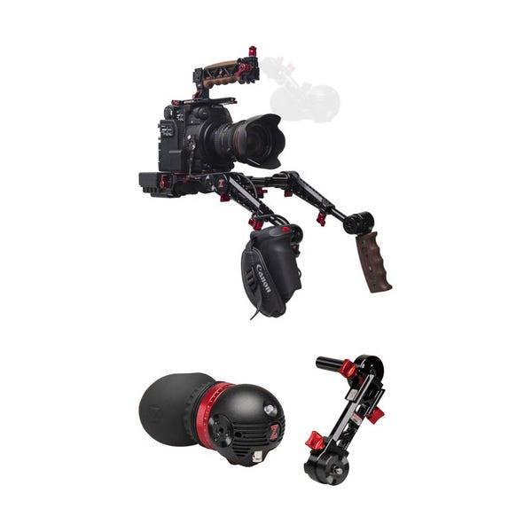 Zacuto C200 With Dual Grips - Gratical Eye Bundle