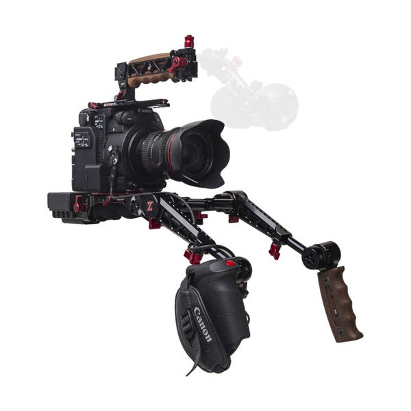 Zacuto C200 EVF Recoil Pro Rig with Dual Trigger Grips