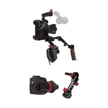Zacuto Gratical HD Bundle with Dual Grips for Canon C300 Mark II