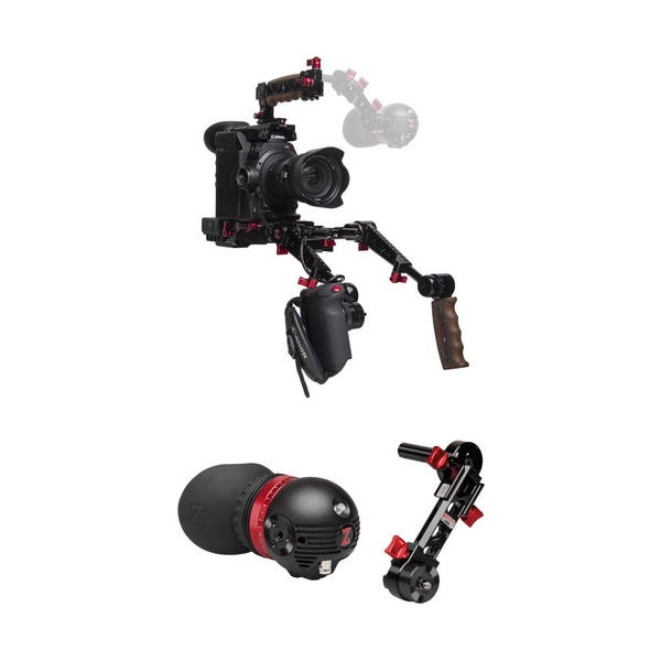 Zacuto Gratical Eye Bundle with Dual Grips for C300 Mark II