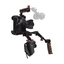 Zacuto EVF Recoil Pro with Dual Trigger Grips for Canon C300 Mark II