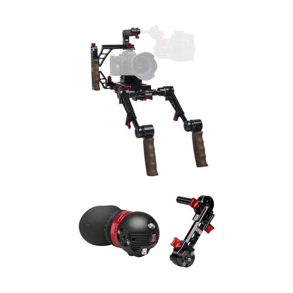 Zacuto Gratical Eye Indie Recoil with Dual Grips Bundle