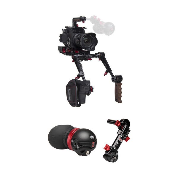 Zacuto Gratical Eye Recoil Pro with Dual Grips Bundle for EVA1