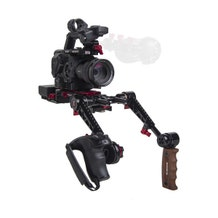 Zacuto Sony FS5/FS5 II EVF Recoil with Dual Trigger Grips