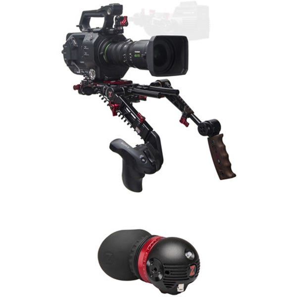 Zacuto Gratical Eye Bundle with Dual Grips for Sony FS7