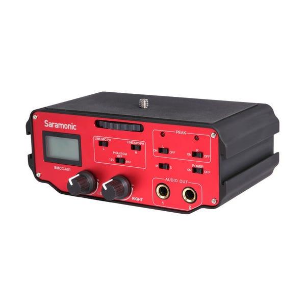 Saramonic BMCC-A01 2-Channel XLR Audio Adapter for Blackmagic Cinema Camera