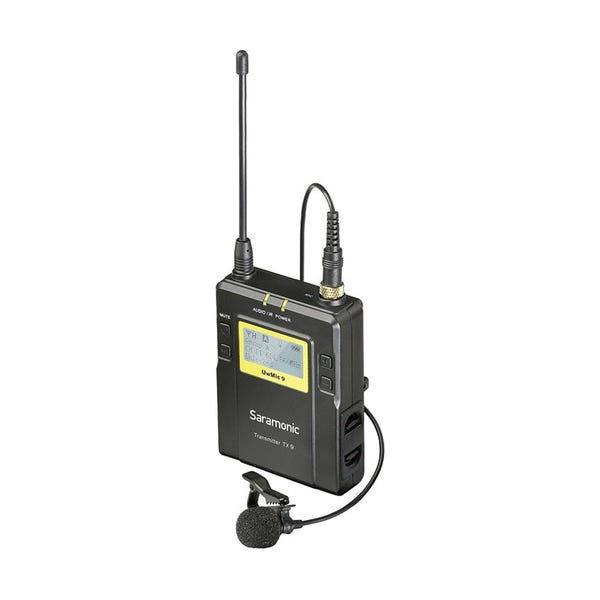 Saramonic TX9 96-Channel Digital UHF Wireless Bodypack Transmitter with Lavalier Mic (514 to 596 MHz)