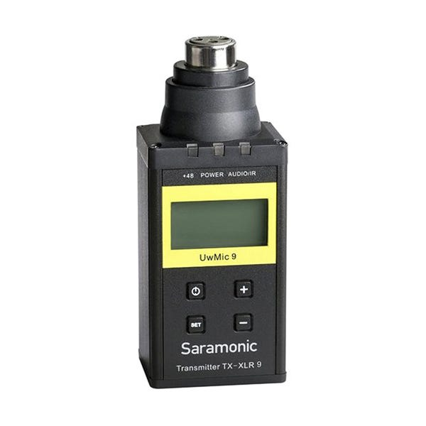 Saramonic TX-XLR9 Plug-On XLR Transmitter for UwMic9 UHF Wireless Mic System (514 to 596 MHz)