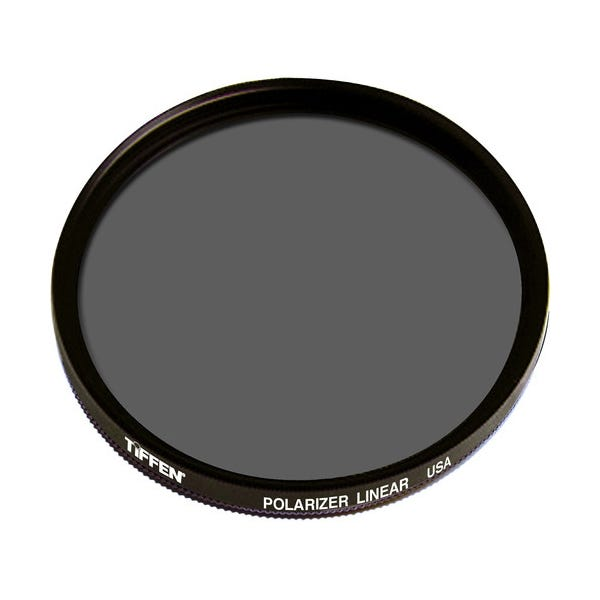 Tiffen 72mm Linear Polarizer Glass Filter
